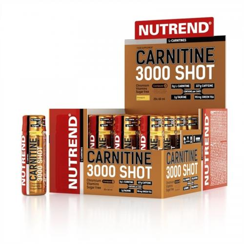 Nutrend - Carnitine 3000 Shot 20x60ml jahoda